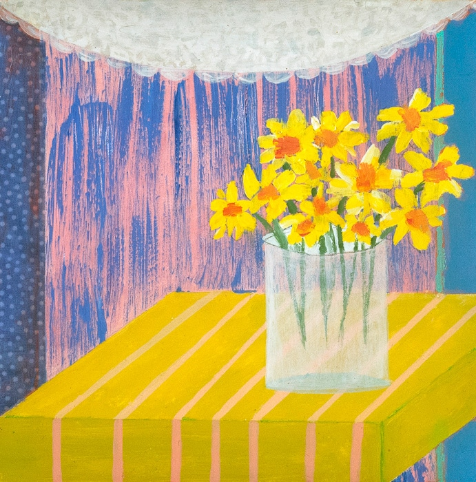 Daffodils - Painting by Andrea Deimel
