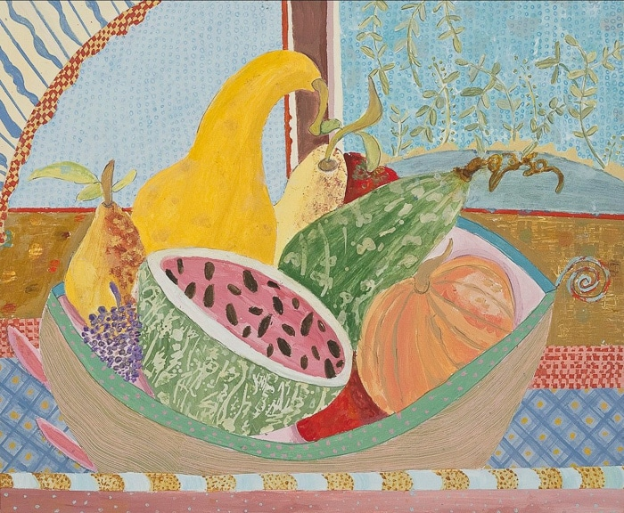 Fall Harvest - Painting by Andrea Deimel