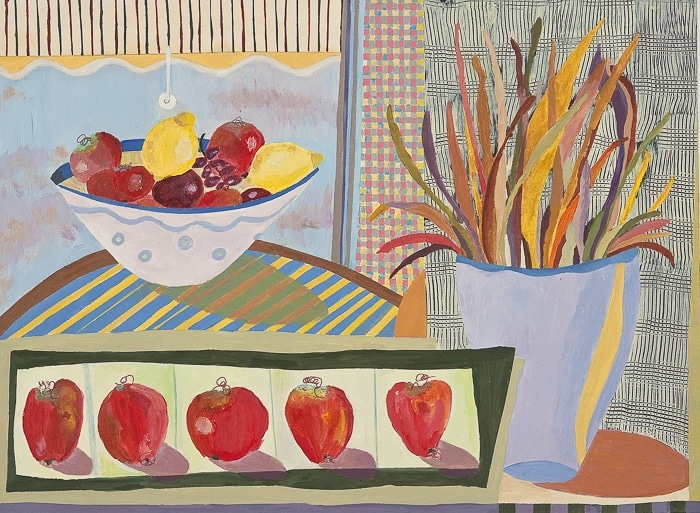 Morning Fruit - Painting by Andrea Deimel