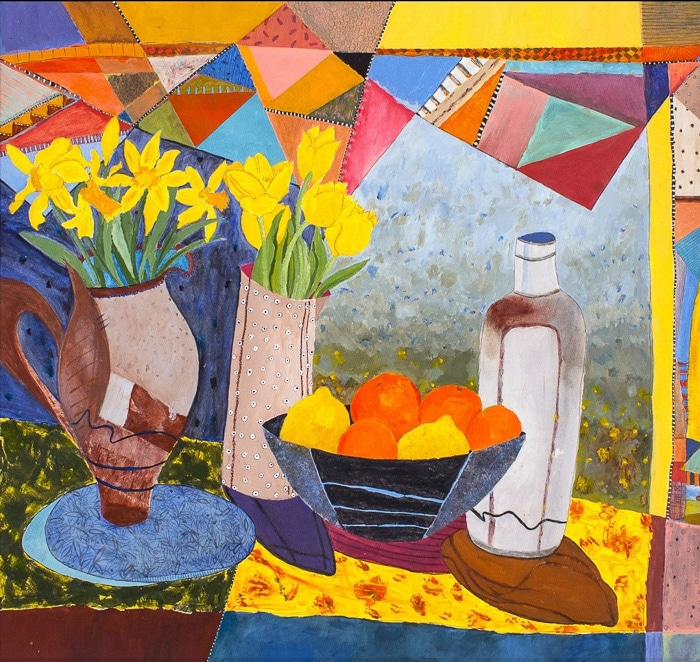 Spring Homage - Painting by Andrea Deimel